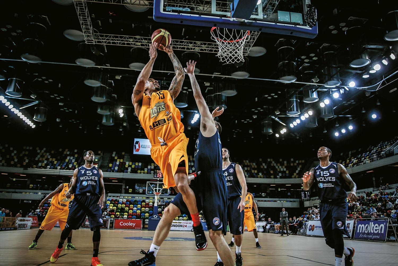 Lions v Wolves Basketball match