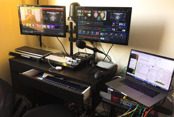 Home Tour production station