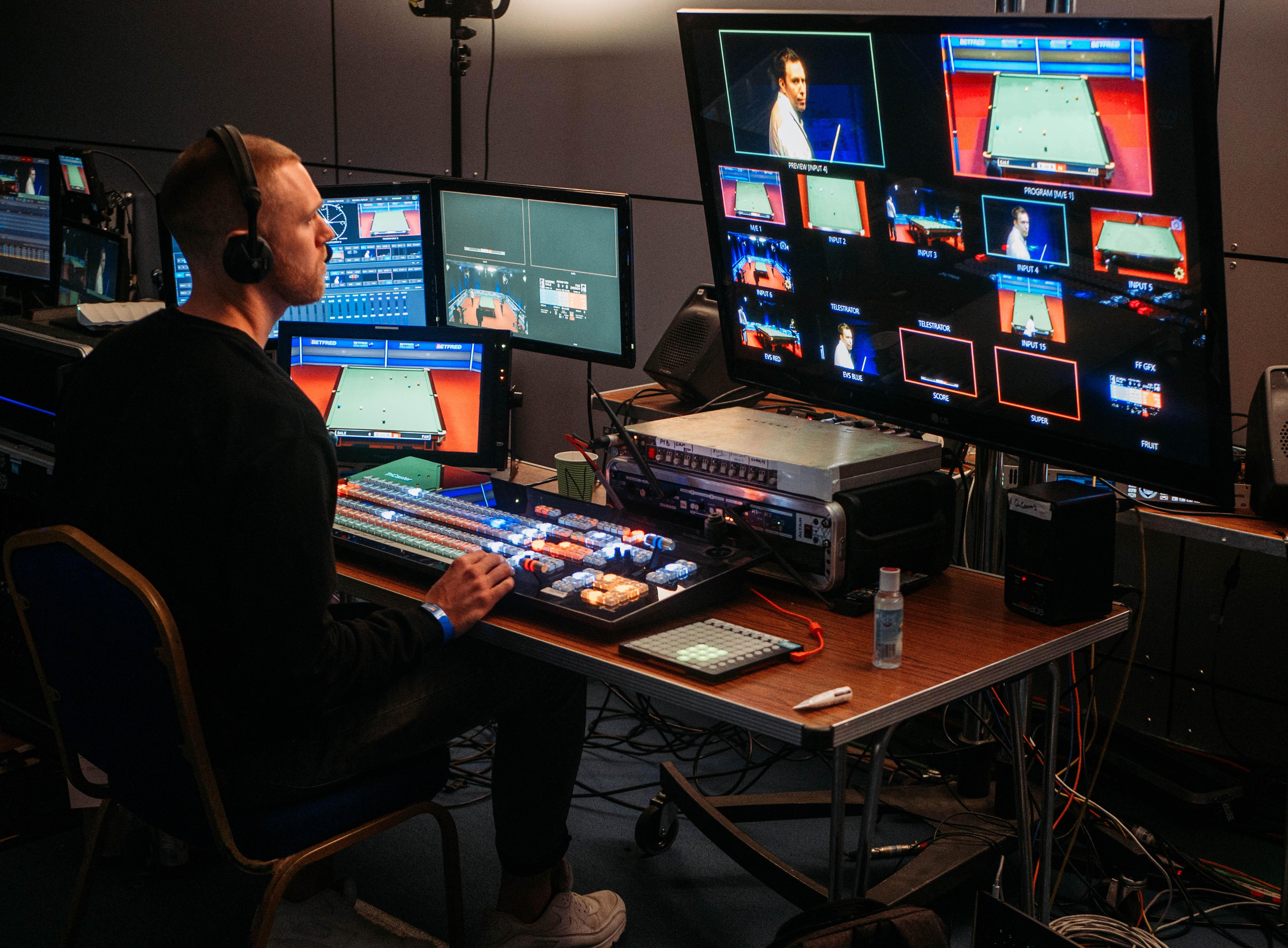 Switcher/Director Desk